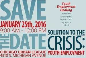 Solution To The Crisis: Youth Employment Hearing